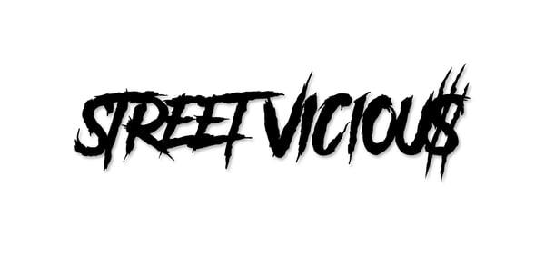 "Image of Street Vicious Slasher - 8"" Single Colour"