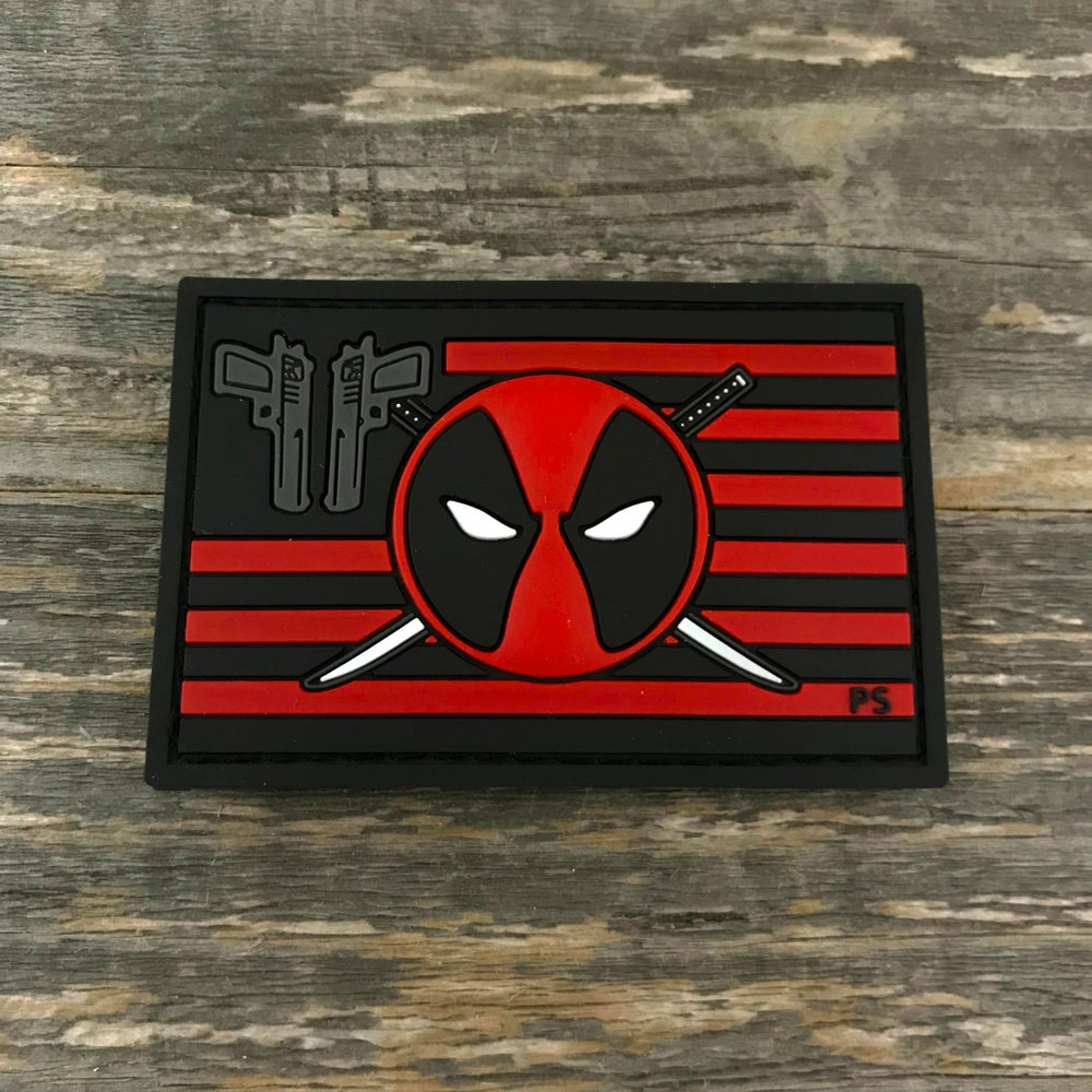 Image of Deadpool Flag Series Patch v 2.0
