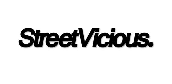 "Image of Street Vicious Simple - 8"" Single Colour"