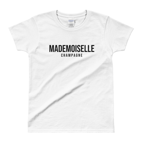 Image of Mademoiselle Champagne T-Shirt