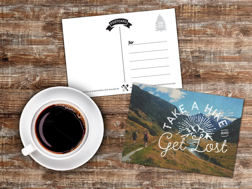 Image of A6 Adventure postcards