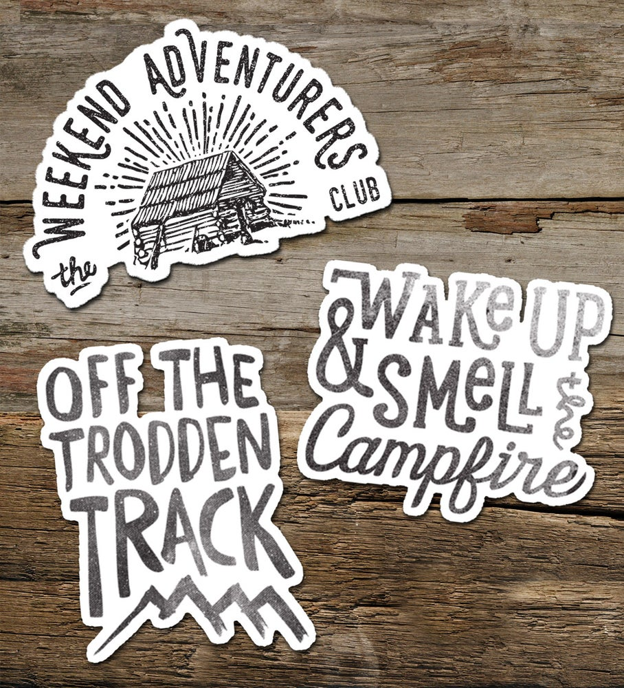 Image of Vinyl Adventure Sticker