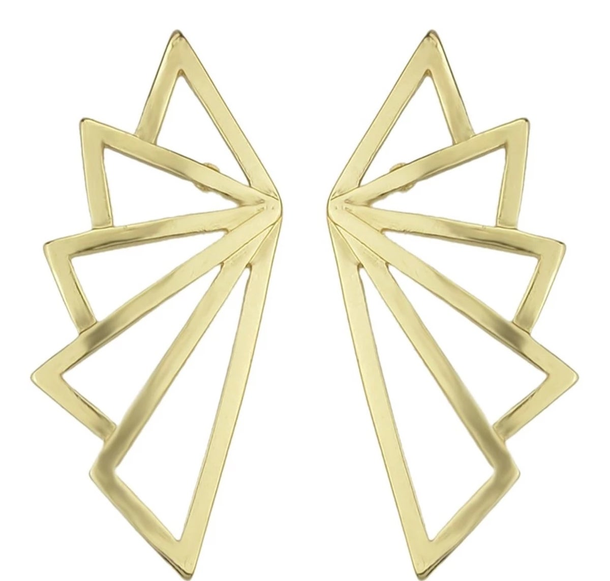 Image of Gold Statement Earrings