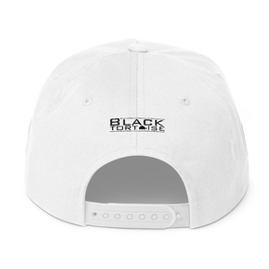 "Image of Black Tortoise "" Army Man"" Snapback (White)"