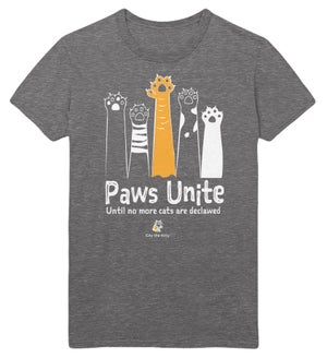 Image of Paws Unite- Deep Heather Color