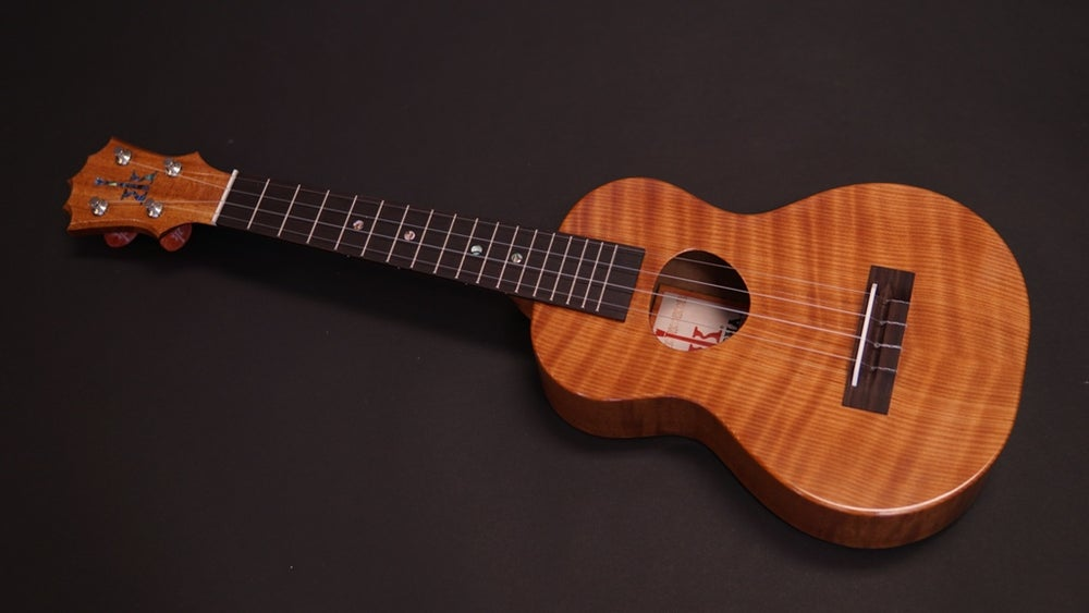 Image of Custom KCM-00 Curly Redwood & Sapele