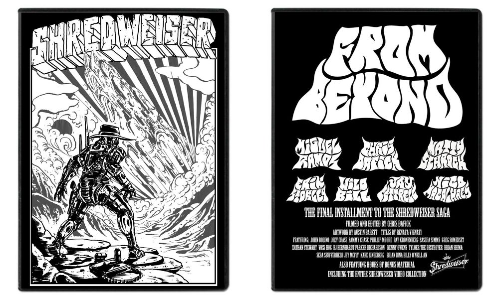 Image of Shredweiser presents FROM BEYOND Full Length DVD pre order