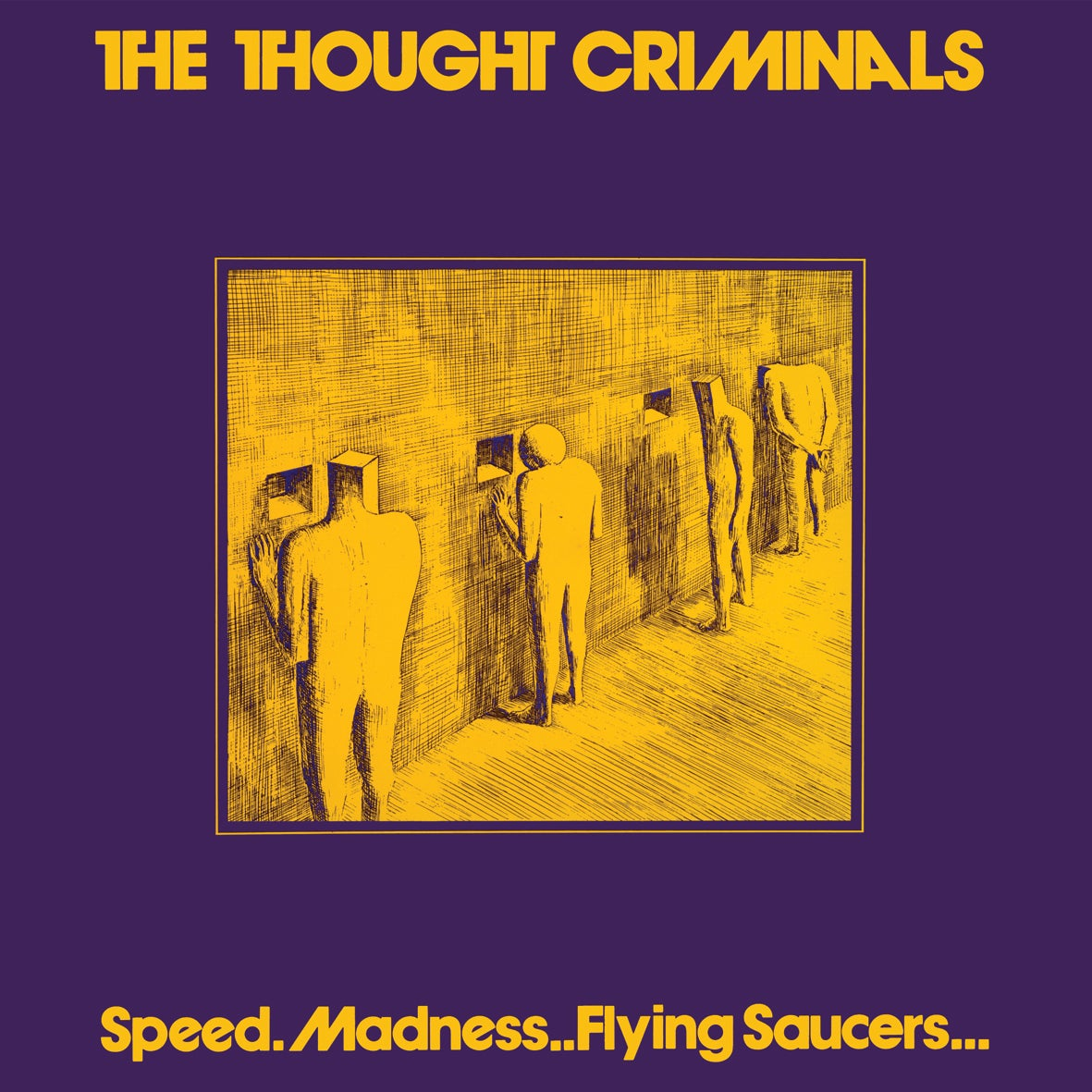 Image of Speed. Madness.. Flying Saucers... (BESPOKE PURPLE AND YELLOW COLOURED VINYL)