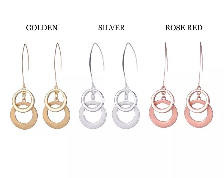 Image of Circle Drop Earring