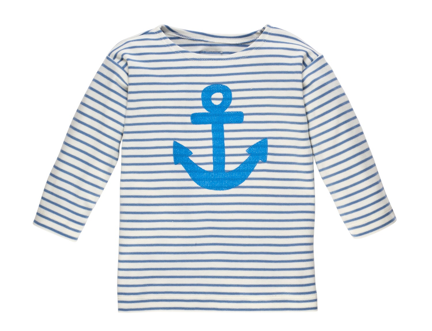 Image of SPECIAL PRICE T-Shirt mit Anker blau
