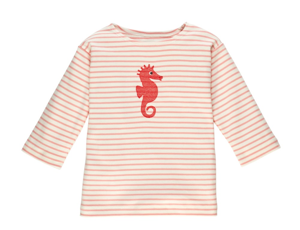 Image of SPECIAL PRICE T-Shirt mit Seepferdchen rosa