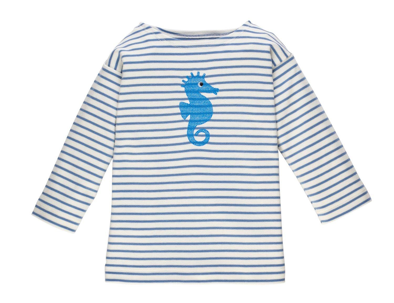 Image of SPECIAL PRICE T-Shirt mit Seepferdchen blau