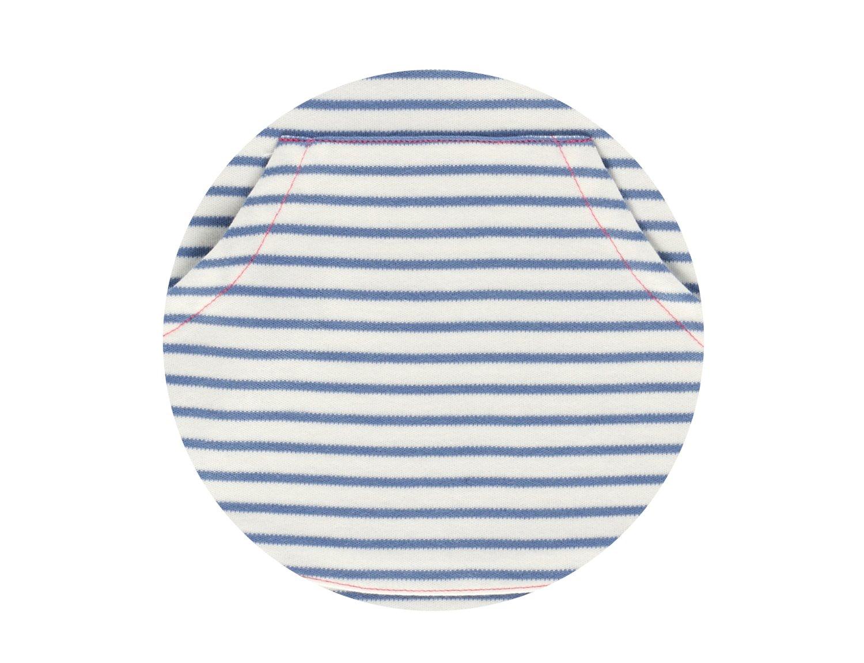 Image of Kleid mit Tasche blau Art.400237