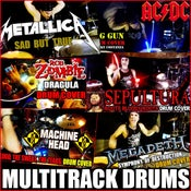 Image of MULTITRACK DRUMS SESSIONS ( DRUM COVERS )