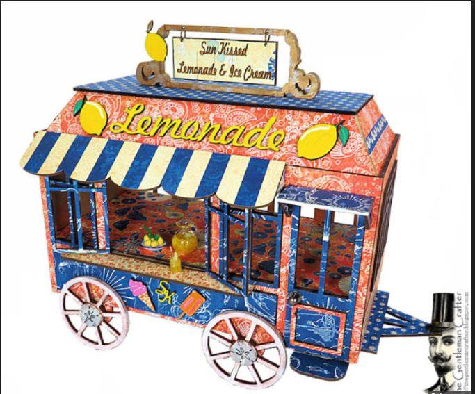Image of The Vintage Lemonade Stand