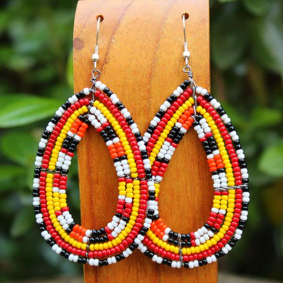 Image of Wilderness Maasai earrings
