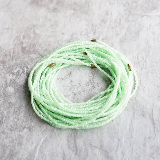 Image of Mint waist bead