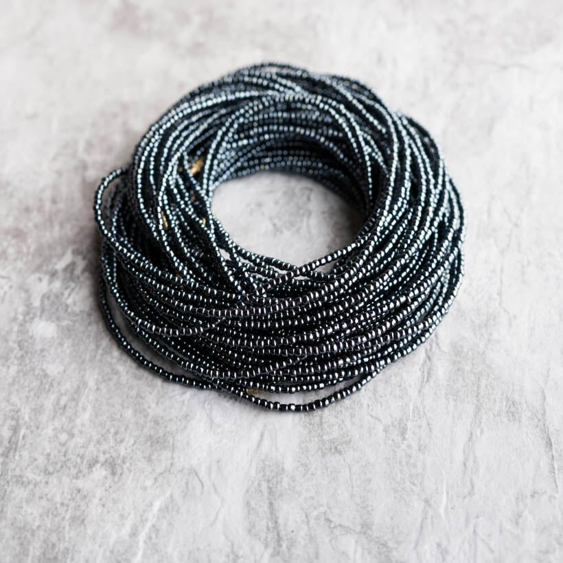 Image of Black waist bead