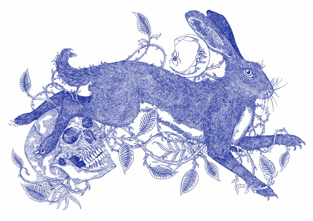 Image of Brambles, Rowan and the  Blue Hare