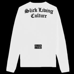 Image of SOLD OUT | SLICK LIVING CULTURE LONG SLEEVE T SHIRT | EXCLUSIVE RELEASE