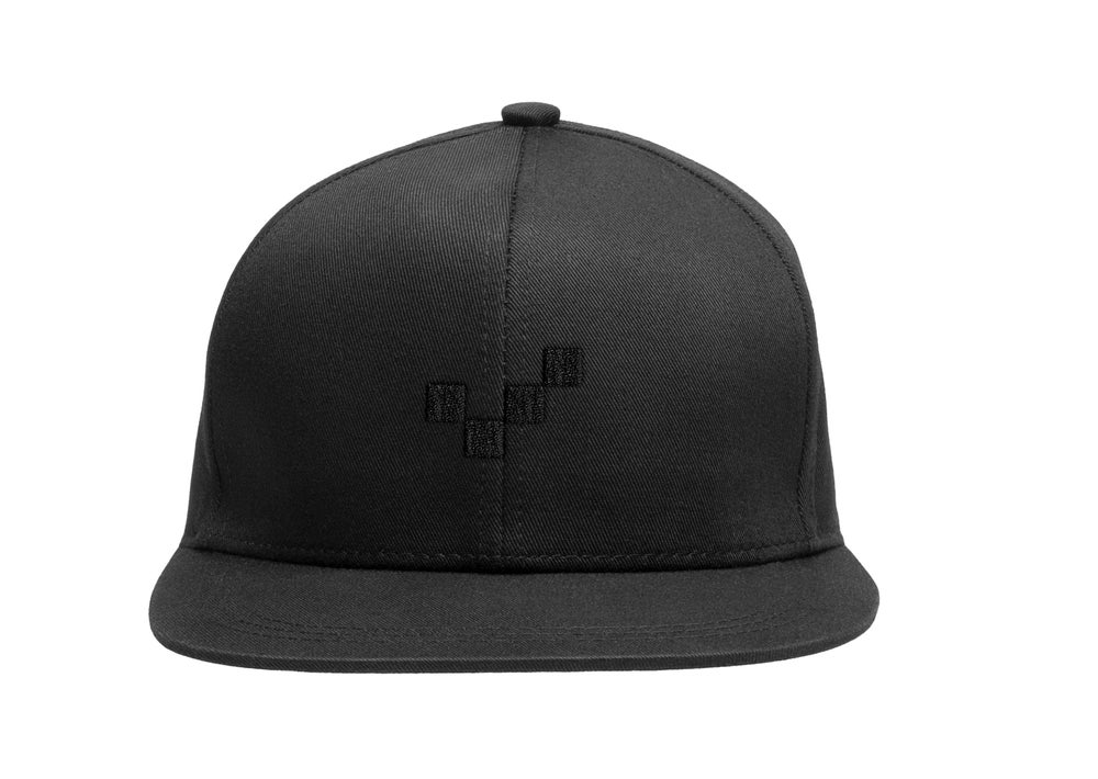 Image of Midnight Pixel Hat - Snapback