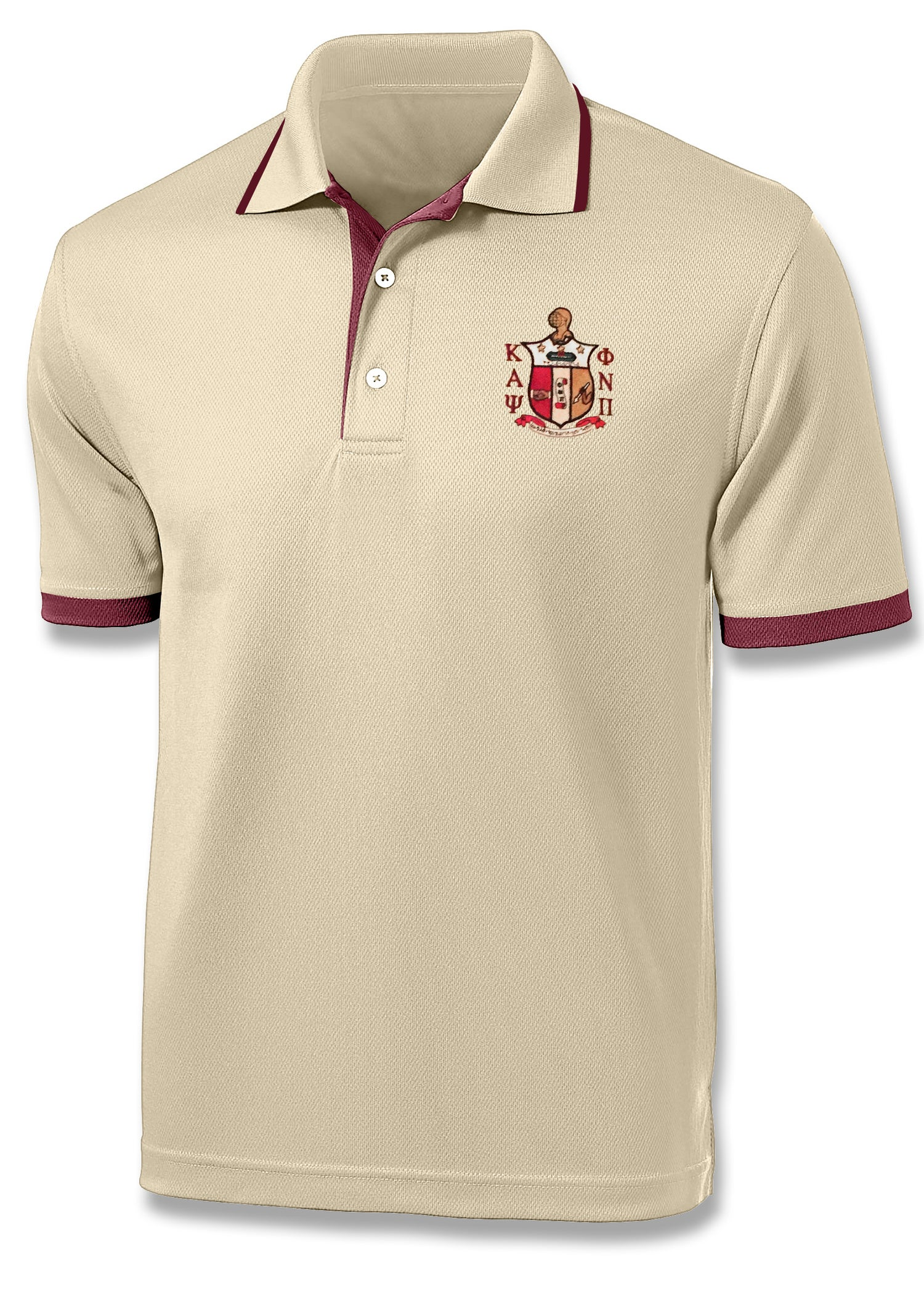 Image of Coat of Arms Polo - Cream