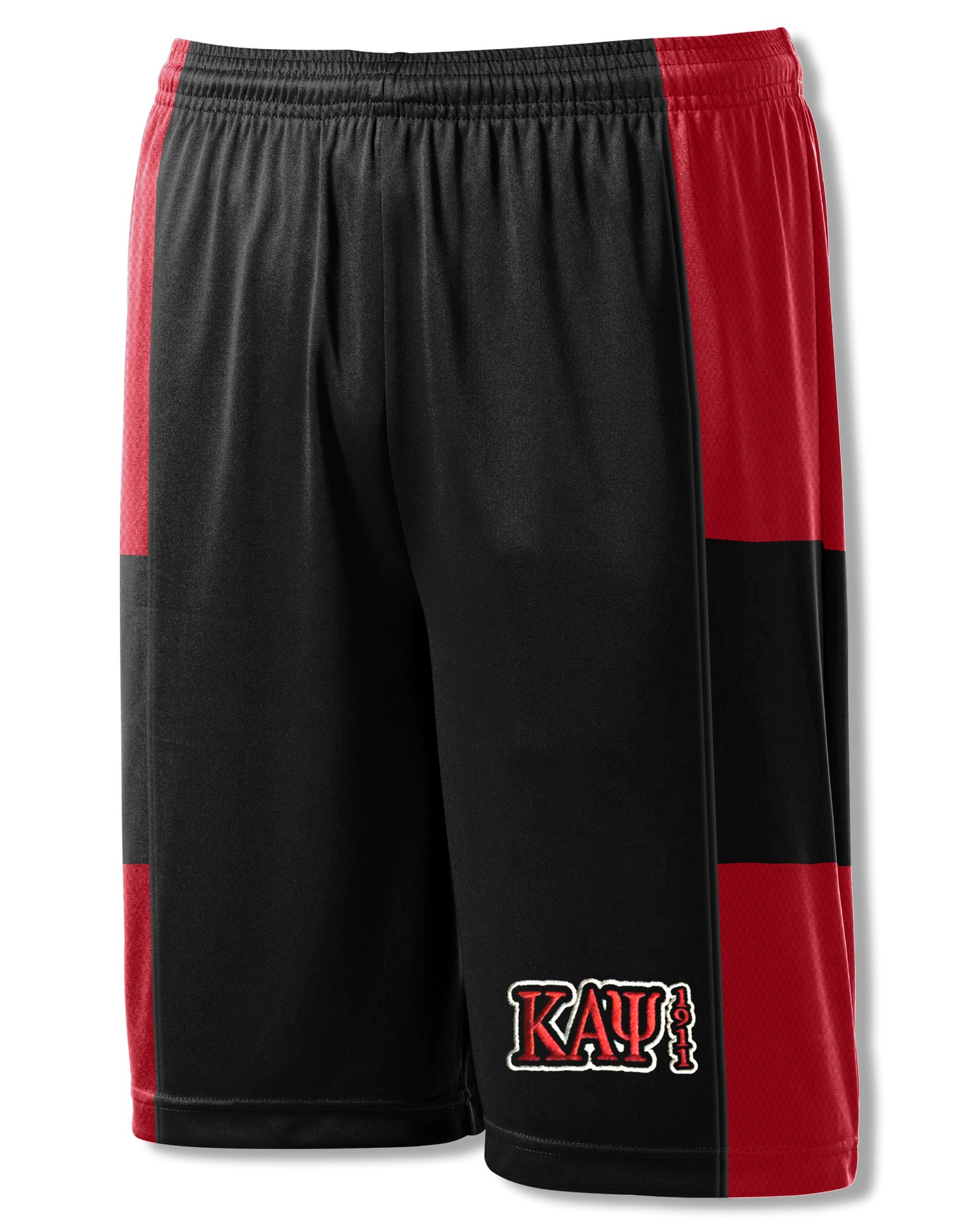 Image of Basketball Shorts - Black & Red