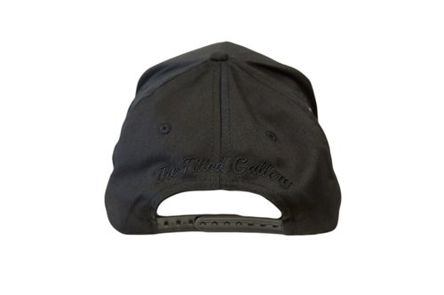 Image of Black and White Fast Trucker Hat