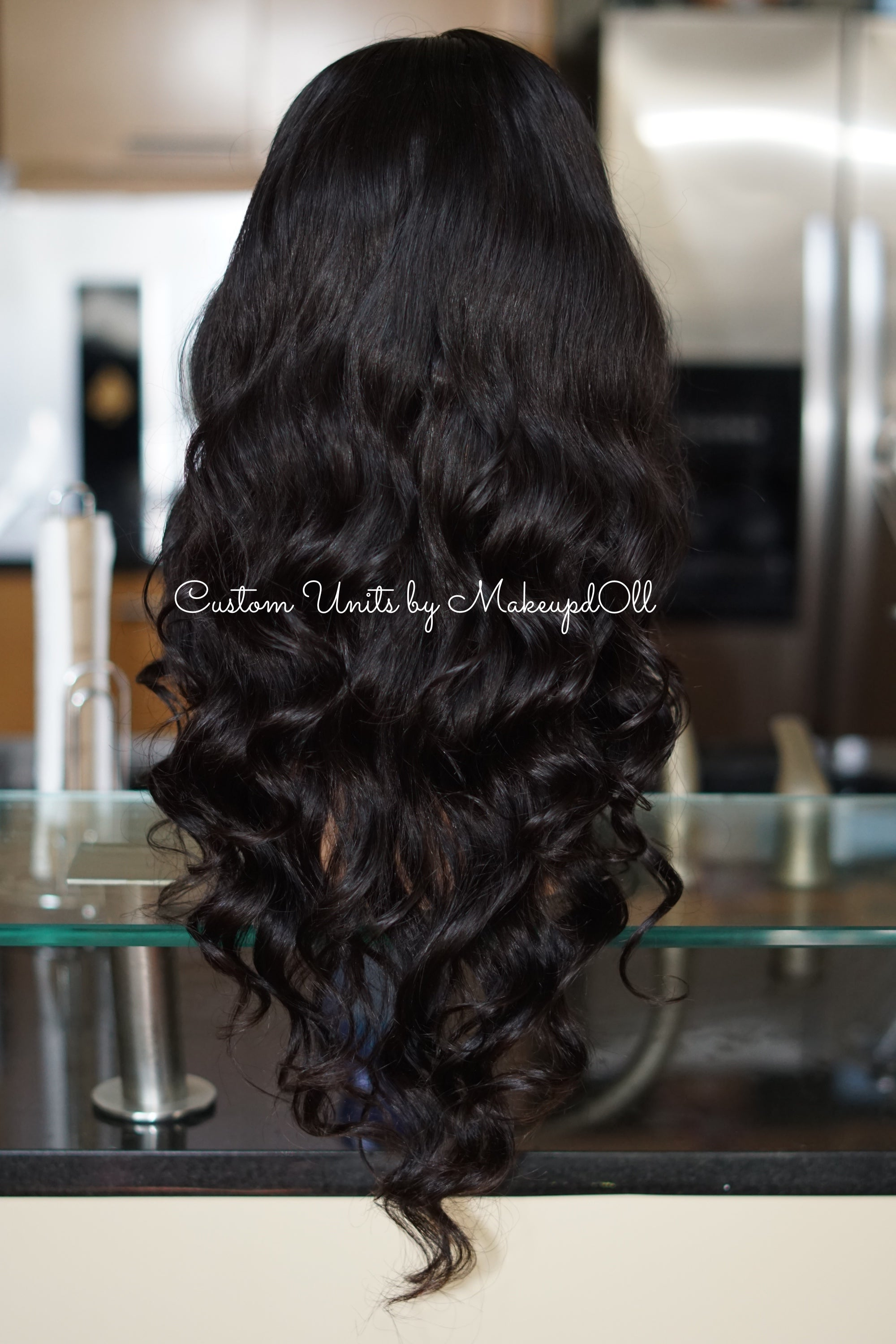 "Image of Brazilian Body Wave 24"" Lace Closure Wig!"