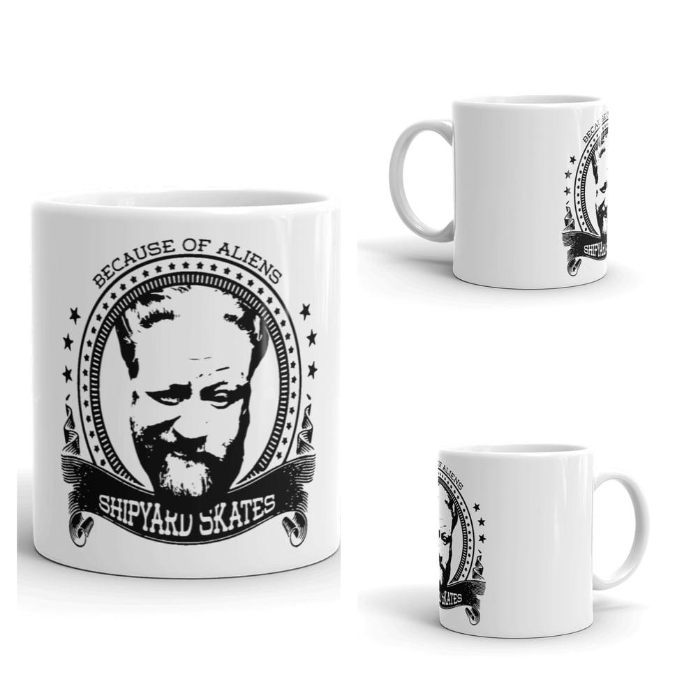 Image of #becauseofaliens Coffee Mug