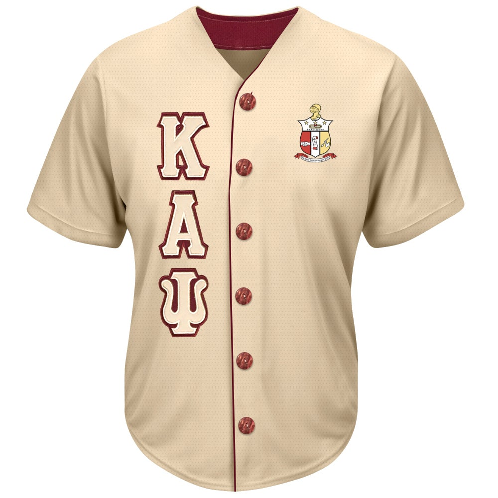Image of Baseball Jersey (Cream)