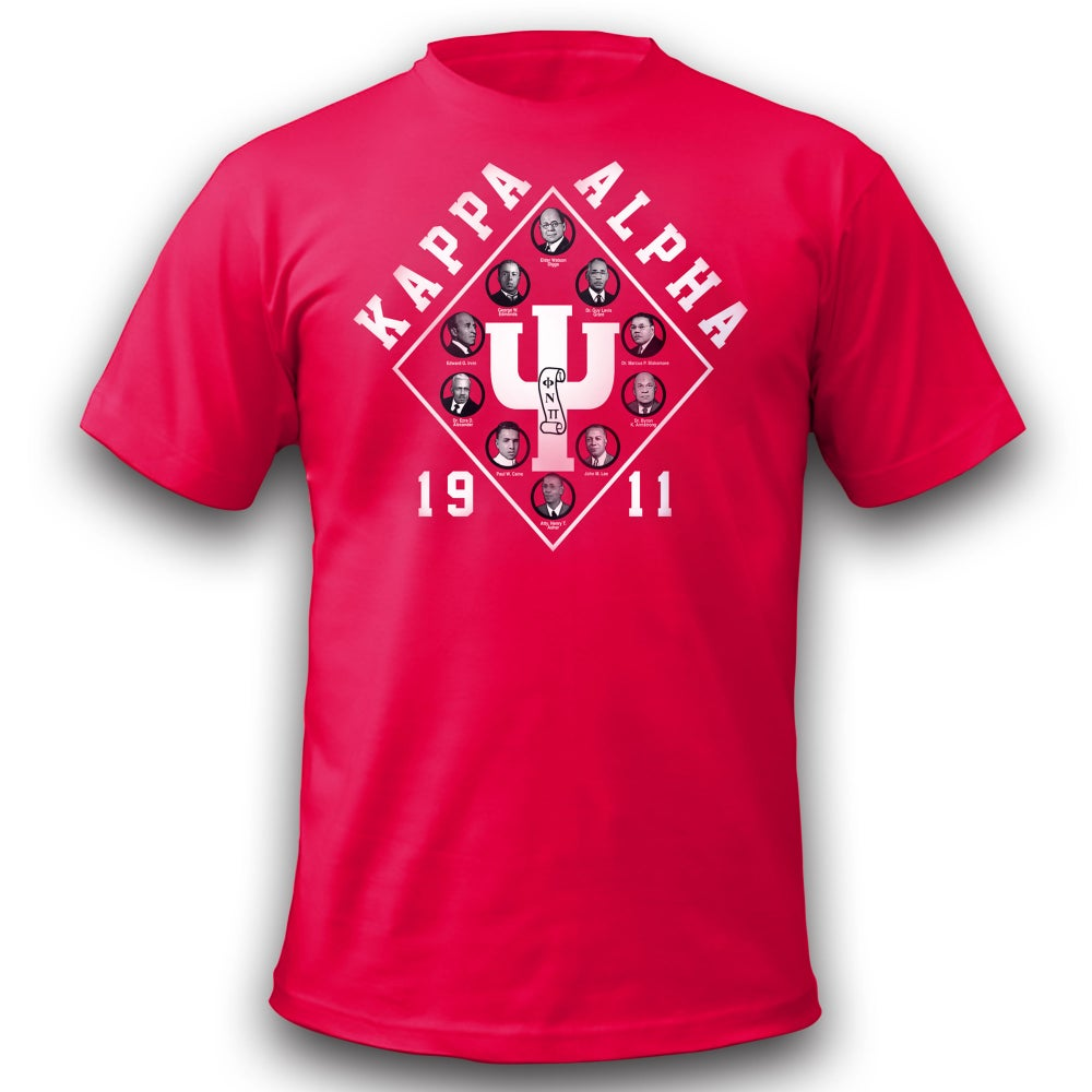 Image of Kappa Founders T-Shirt - Red !! CLOSEOUT!!