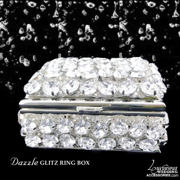 Image of Swarovski Crystal Ring Box Dazzle Glitz