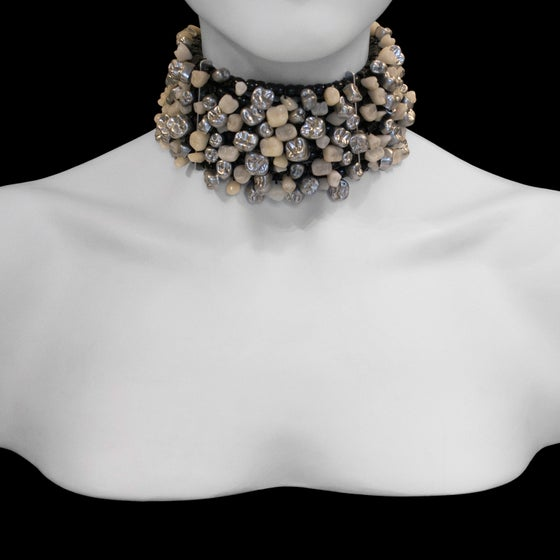 "Image of ""Monae"" Tooth and Crown Choker"
