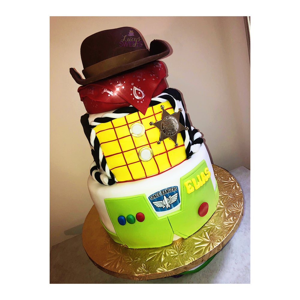 Image of Custom Tiered Cakes