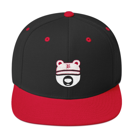 Image of Black and Red Bearcub Cap
