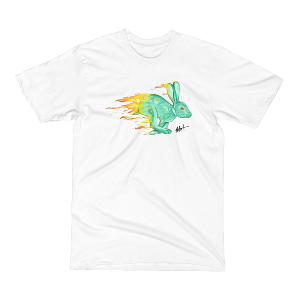 Image of White Fire Rabbit T-Shirt