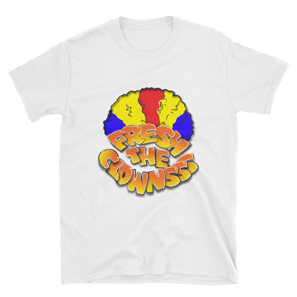 Image of YOUTH Fresh the Clowns White T-Shirt