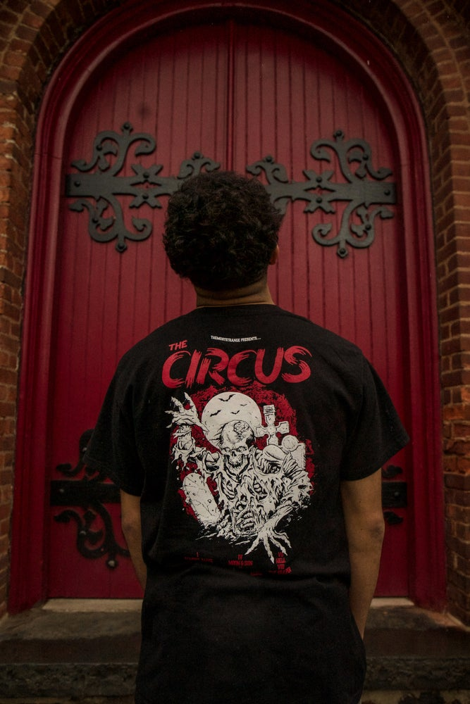 Image of The Circus Tee BLK/RED