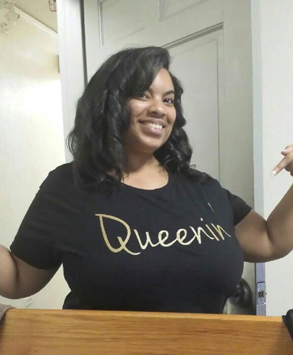 Image of Black & White Queenin Shirt