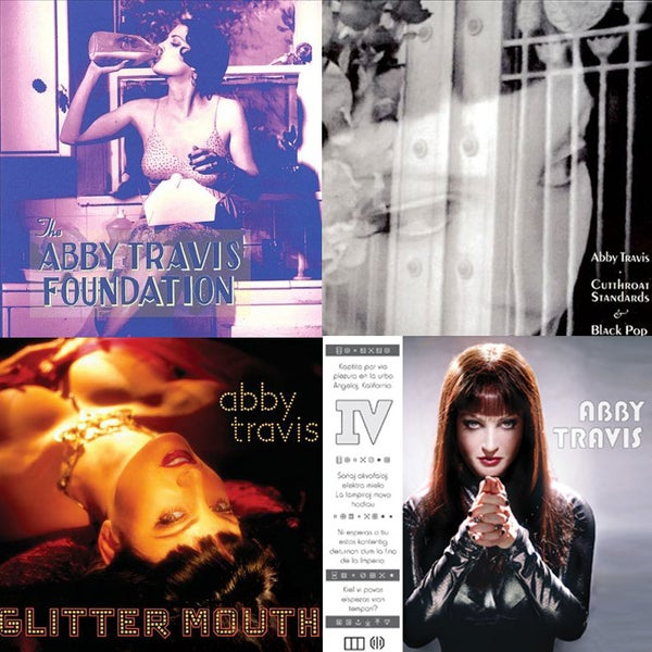 Image of Abby Travis - all 4 CD bundle