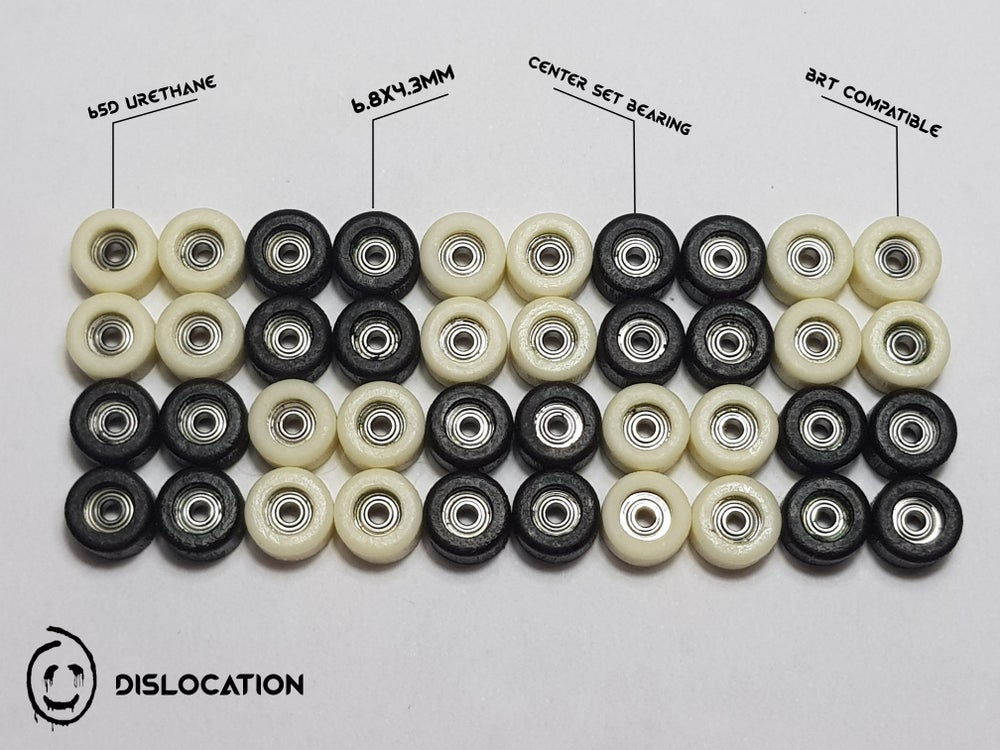 Image of Dislocation Professional Fingerboard Wheels 65D
