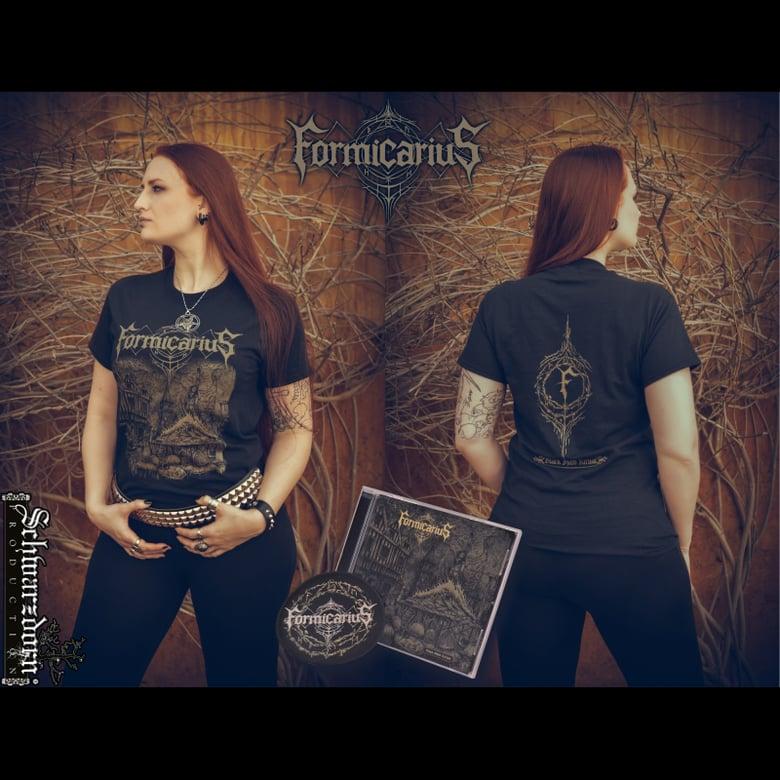 Image of Black Mass Ritual T-shirt/CD/Patch Bundle
