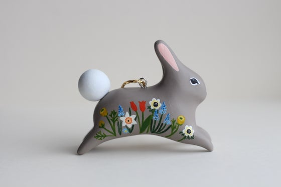 Image of Little Spring Floral Rabbits