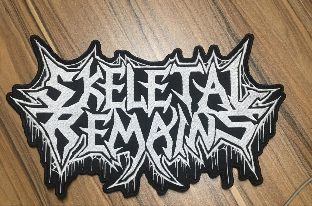Skeletal Remains Embroidered Backpatches
