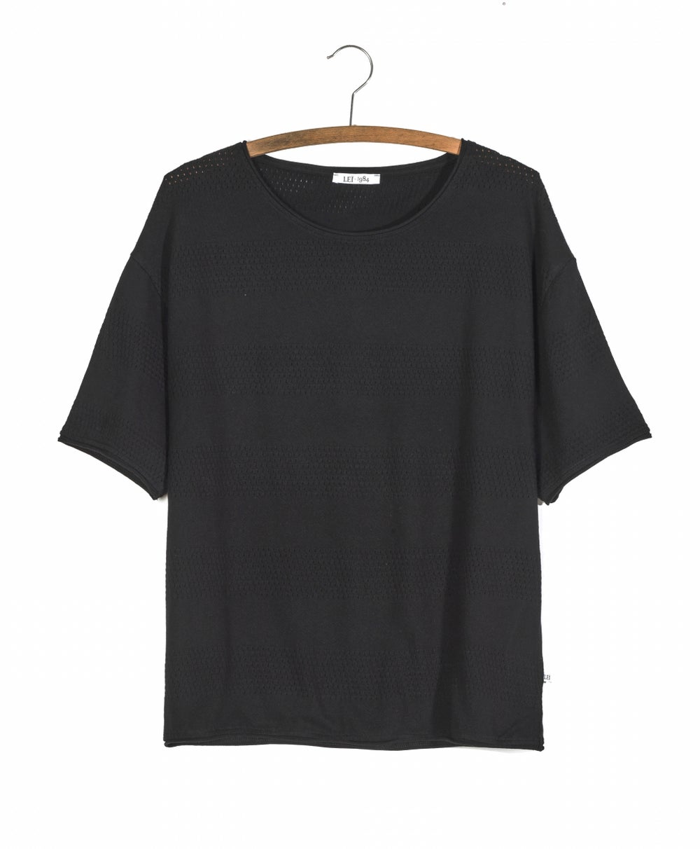 Image of Tee shirt rayures ajourées ANTO 59€ -60%