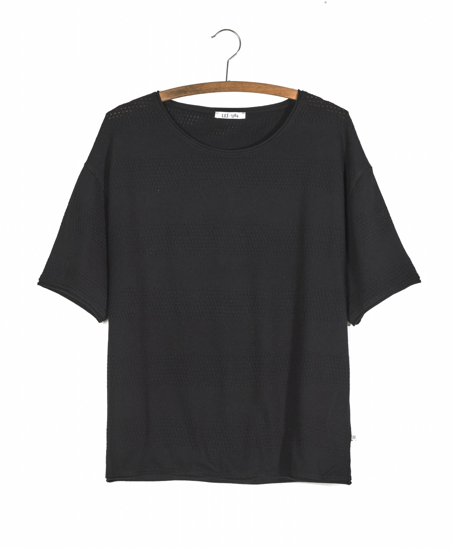 Image of Tee shirt ANTO rayures ajourées 59€ -30%