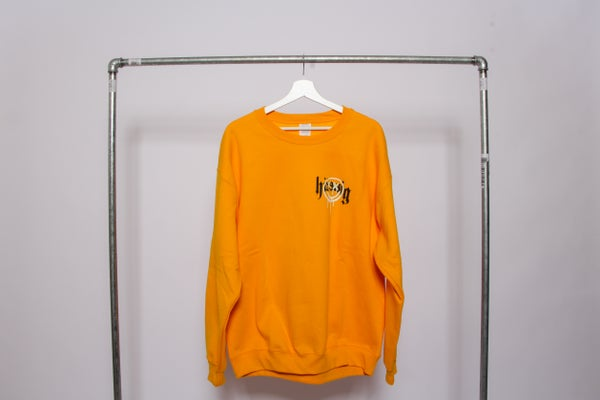 Image of smile sweater gold