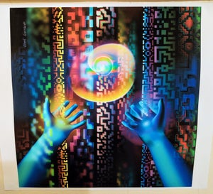 "Image of Reaching Akasha - 15"" x 17"" Print"