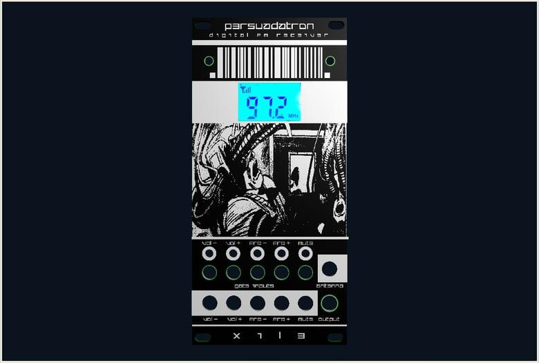 Image of PERSUADATRON - FM radio eurorack module